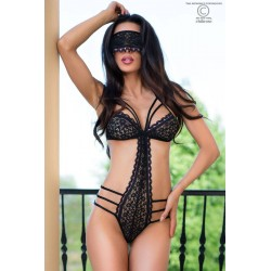 Chilirose Body CR4070 Negro-morado S/M